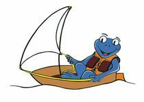 Froggi im Boot
